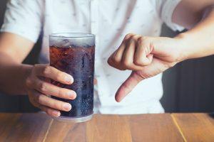Motivos para não tomar refrigerante