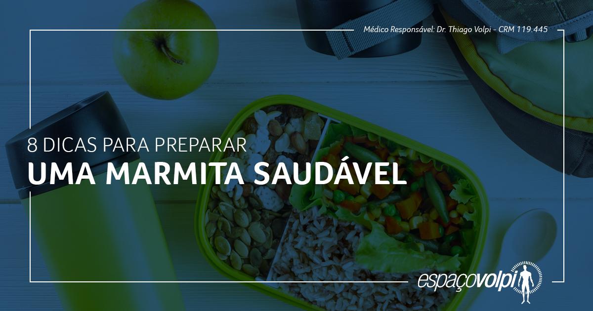 Como preparar uma marmita saudável