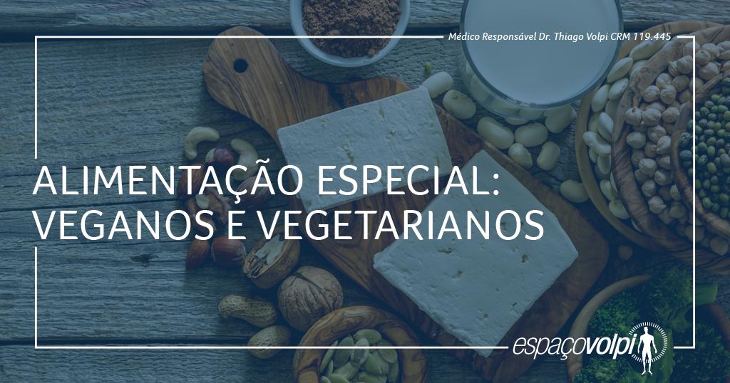 veganos e vegetarianos